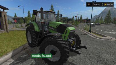Мод на трактор Deutz-FahrAgrotronX720