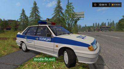 ВАЗ-2115 (ДПС) в игре FS 2017