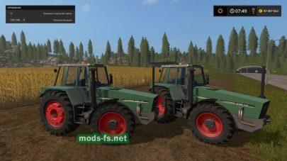 Мод трактора FendtFavorit620