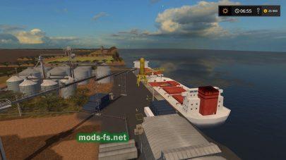 Морской порт в игре FS 2017