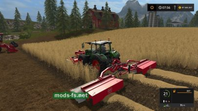 «Green Mowing» mod