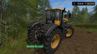 Мод трактора JCB