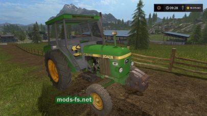 Мод трактора JOHN DEERE