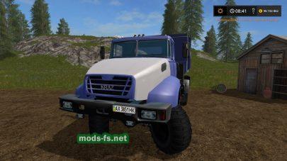 Мод грузовика Краз-18В