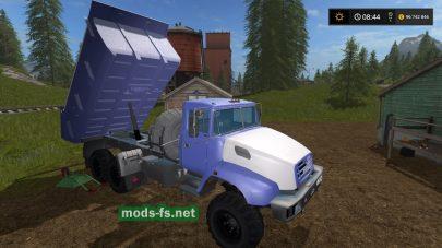 Краз-18В для Farming Simulator 2017