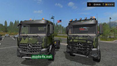 Тягач Mercedes для FS 17