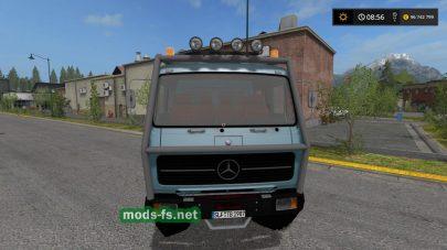 Мод на грузовик MercedesBenzNGDoka