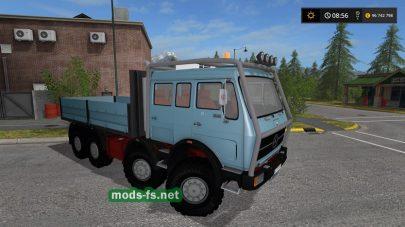 Модификация грузовика Мерседес для игры FS 17