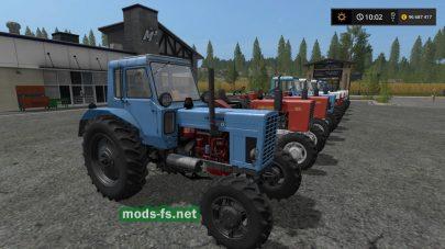 mtz-82/80 mods