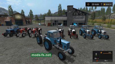 Пак тракторов MTZ 82/80