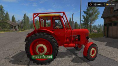 Скриншот мода трактора МТЗ-50