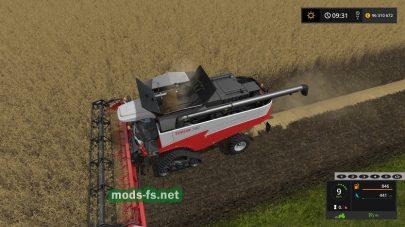 Зерноуборочный комбайн TORUM 780 в игре FS 2017