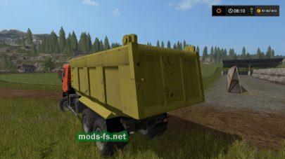Скриншот мода «shacman-f2000»