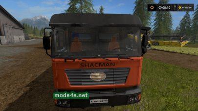 SHACMAN F2000 mods FS 17