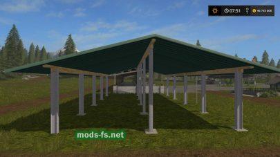 Навес для Farming Simulator 2017