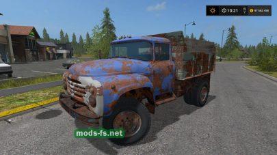 Мод грузовика ЗИЛ-4502
