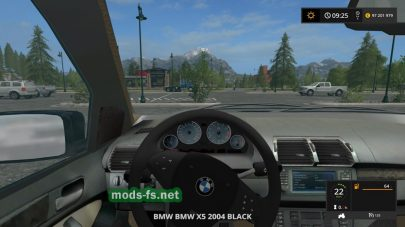 BMW X5 для Farming Simulator 2017