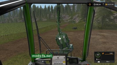 Пак техники для работы в лесу в игре FS 2017