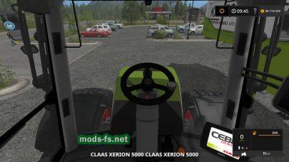 Скриншот мода «Claas Xerion/Kaweco»