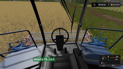 Енисей 950: вид с кабины