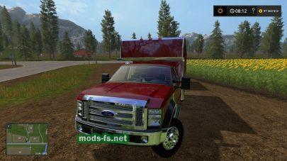 Ford F450 для Farming Simulator 2017