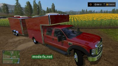 Ford F450 mods