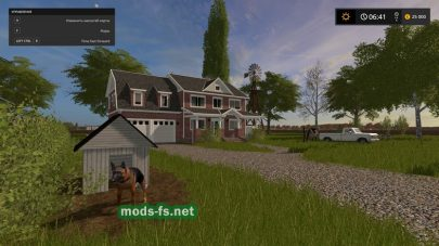 Мод карты «Old Mills Farms»
