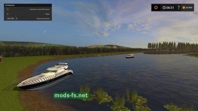 Озеро в игре FS 17