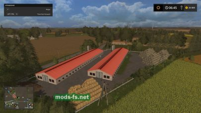 Ферма на карте WarminskoMazurskie