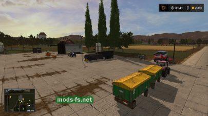 «Agricultural Peninsula» для Farming Simulator 2017
