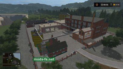 Скриншот игровой карты «Agricultural Peninsula»