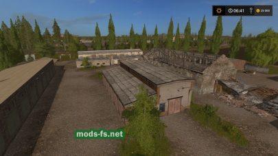 «Russia Map Fixed» для Farming Simulator 2017