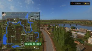 Схема карты «Russia Map Fixed»