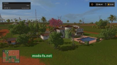 «Estancia Lapacho» для игры FS 17