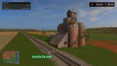 Железная дорога в игре FS 17