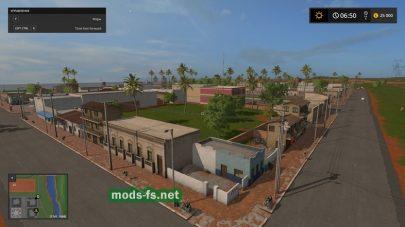 Город на игровой карте «Estancia Lapacho»