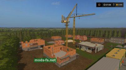 Стройка в Farming Simulator 2017