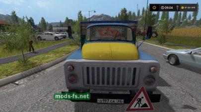 Скриншот грузовика ГАЗ-53 в игре FS 17