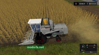 Мод комбайна для кукурузы в FS 17