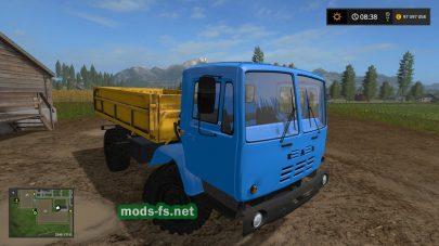 kaz-4540 в игре FS 17