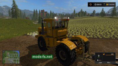 Мод трактора Kirovec K-700A