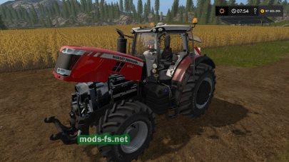 Трактор Massey Ferguson в игре FS 17