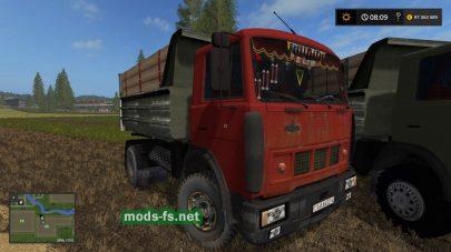 Мод пак грузовиков МАЗ-5551