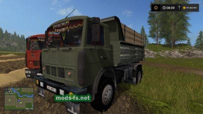 maz-5551 FS 17 mod
