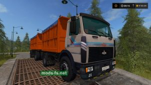 МАЗ-5551 для FS 17