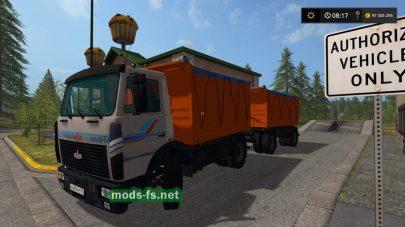FS17 Maz 5551 pricep