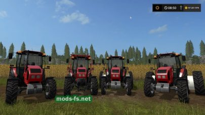 Мод трактора МТЗ-1523