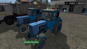 МТЗ-50/52 в игре Farming Simulator 2017