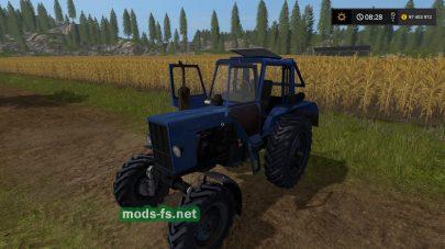 Мод трактора MTZ-82 (Dynamic Hoses)