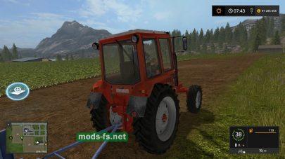Скриншот мода «mtz-82 v1»